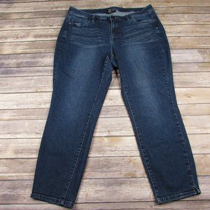 Lane Bryant Capris Cropped Jeans 16
